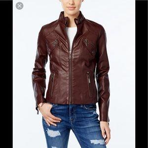 Jou Jou brown bomber jacket